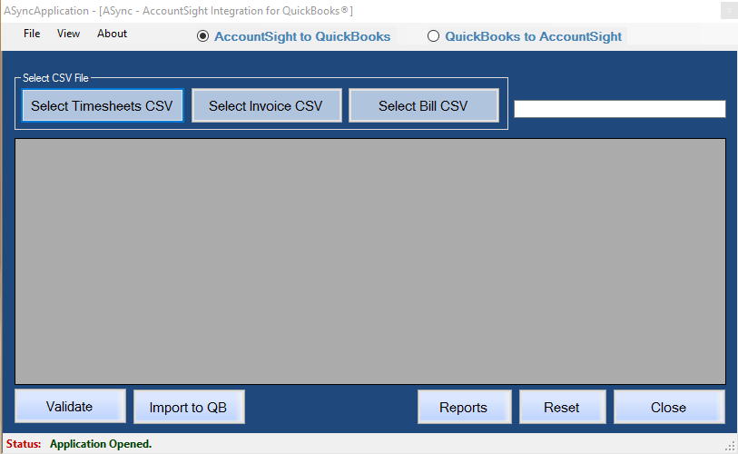 Export Invoice Data From AccountSight To QuickBooks Invoices - Quickbooks invoice import csv