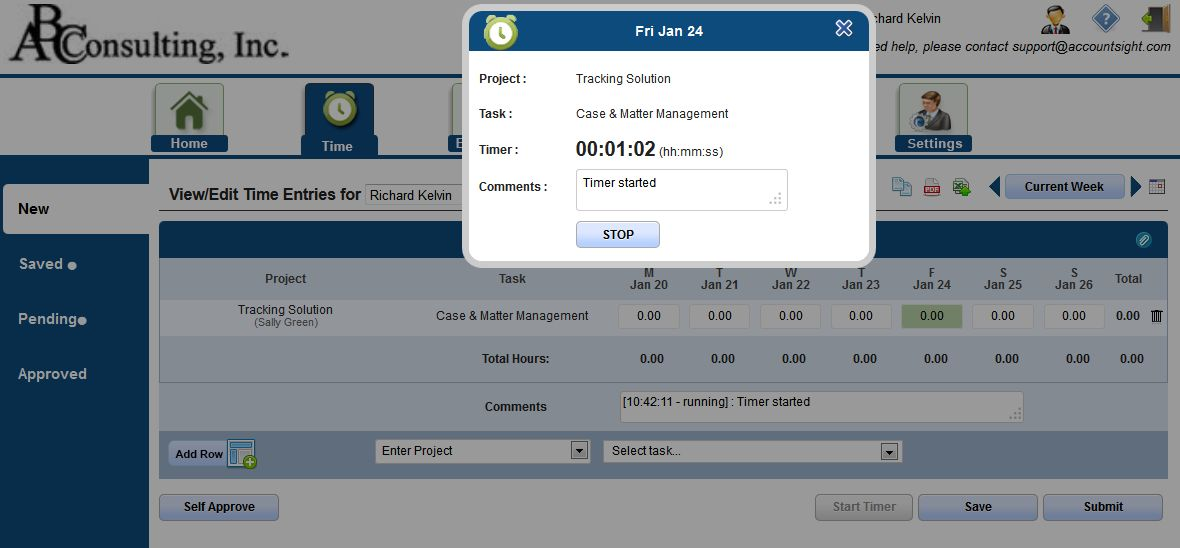 Stopwatch Timer for Accurate Time Tracking